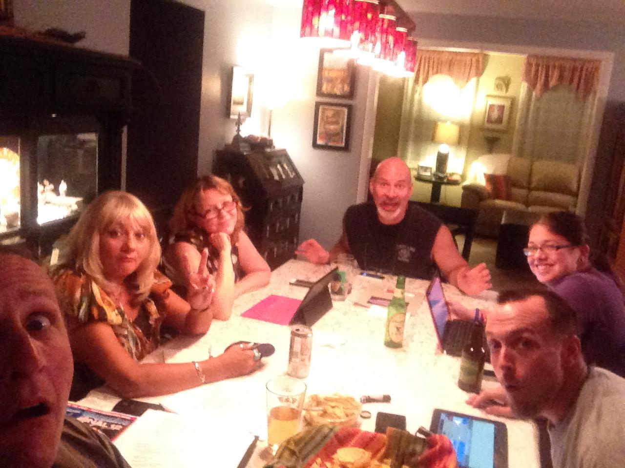 (L 2 R) Steve, Janet, Mollie, Ken, Ducky & J.
